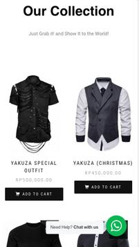 Yakuza Online Shop screenshot 1