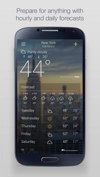 Yahoo Weather screenshot 1