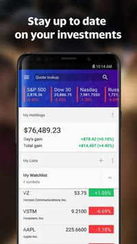 Yahoo Finance: Real-Time Stocks & Investing News screenshot 4