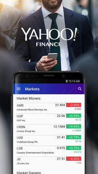 Yahoo Finance: Real-Time Stocks & Investing News plakat