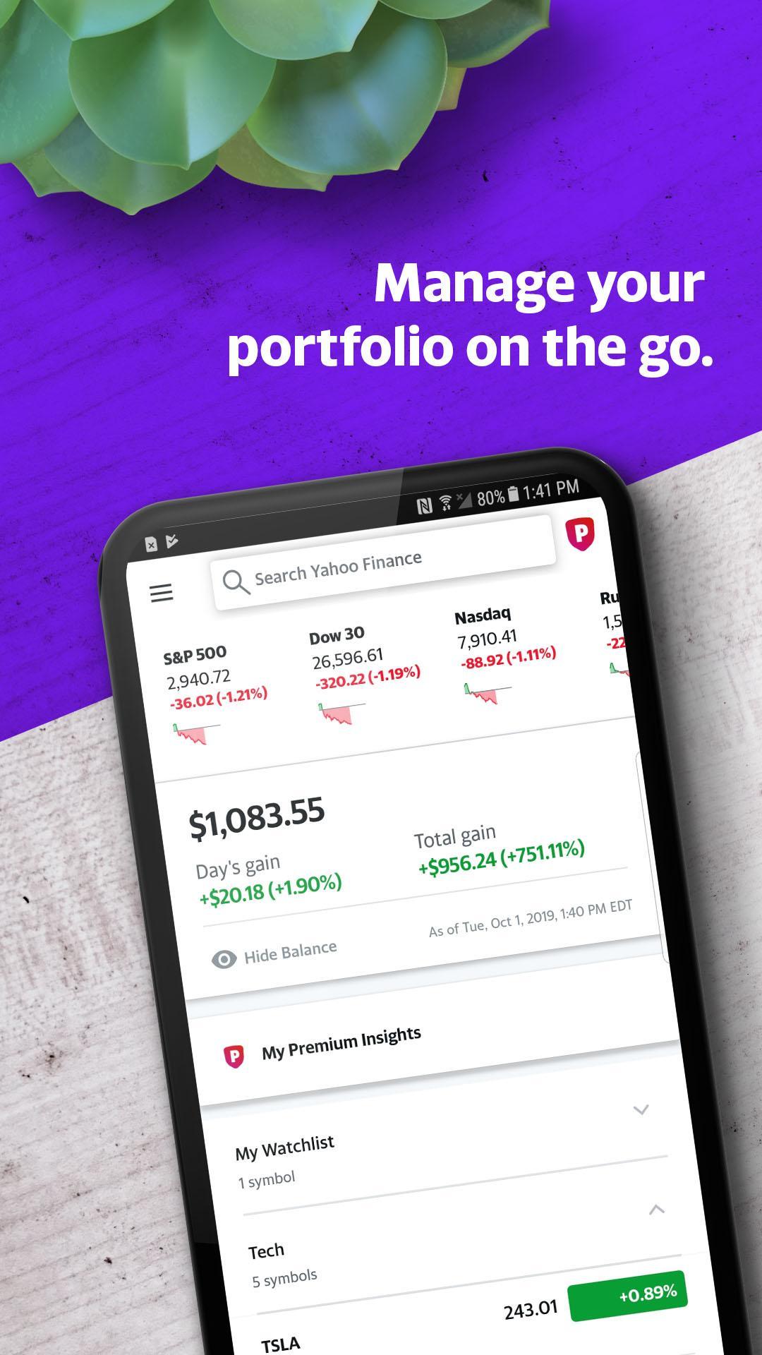 Yahoo Finance European Stock Market