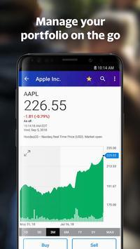 Yahoo Finance: Real-Time Stocks & Investing News screenshot 1