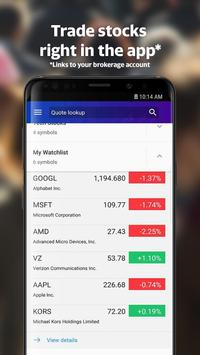 Yahoo Finance: Real-Time Stocks & Investing News screenshot 3