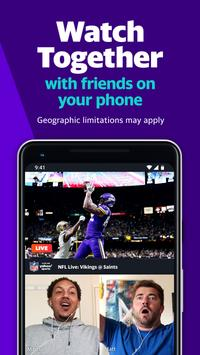 Yahoo Sports: Stream live NFL games & get scores screenshot 3
