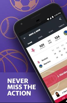 Yahoo Sports - scores, stats, news, & highlights poster