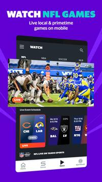 Yahoo Sports: sports scores, live NFL games & more poster