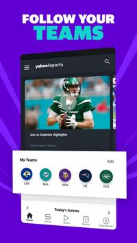 Yahoo Sports - Get scores & watch live NFL games screenshot 2
