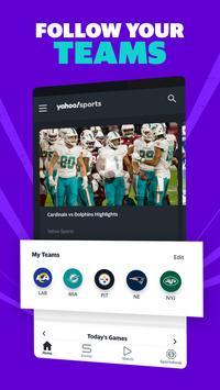 Yahoo Sports: sports scores, live NFL games & more screenshot 1