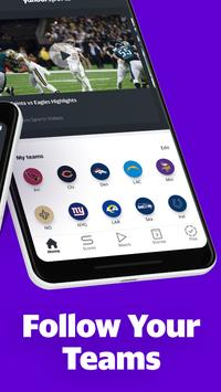 Yahoo Sports: Stream live NFL games & get scores screenshot 2
