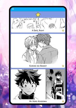 Yaoi Manga Novels screenshot 14