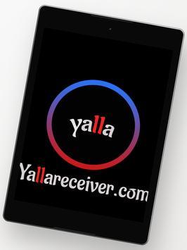 Yalla Receiver تصوير الشاشة 9