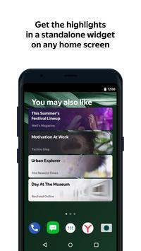 Zen: personalized stories feed screenshot 2