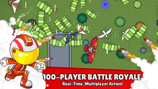 ZombsRoyale.io - 2D Battle Royale screenshot 1