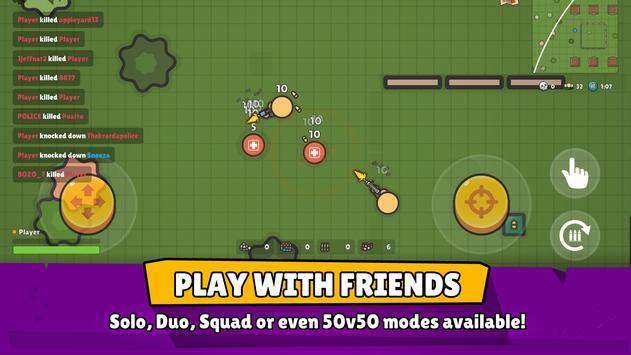 ZombsRoyale.io - 2D Battle Royale captura de pantalla 3
