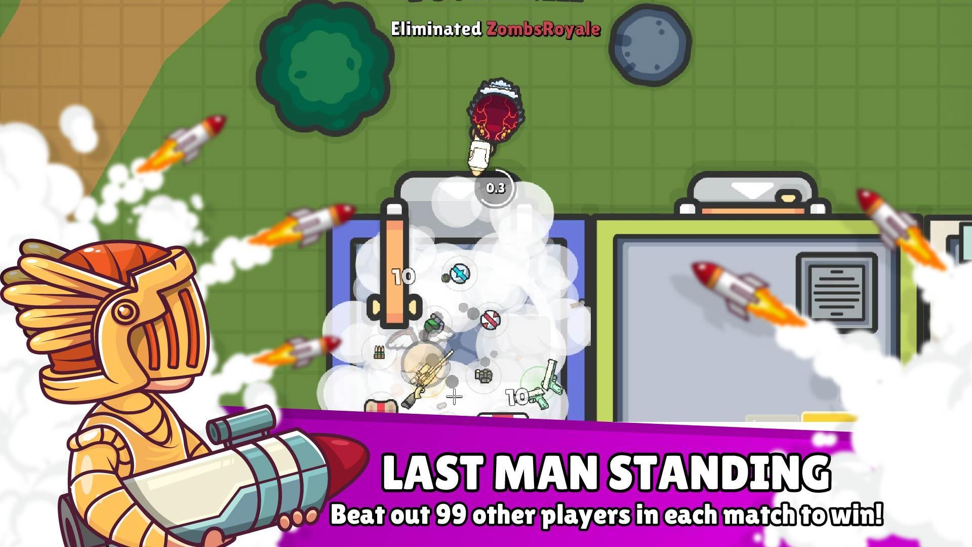 ZombsRoyale io - 2D Battle Royale for Android - APK Download