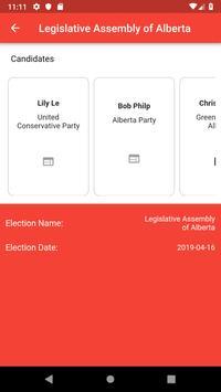 Canada Votes screenshot 1