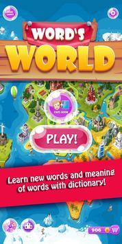 Word's World  - Connect Words Game poster