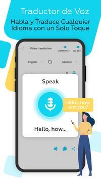 Traductor de idiomas Voz, Foto captura de pantalla 1