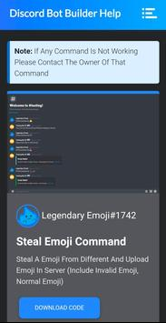 Discord Bot Builder Help screenshot 3