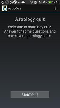 AstroQuiz - test your basic knowledge of astrology 截图 2