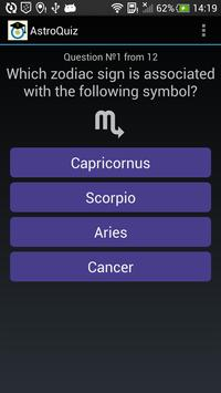 AstroQuiz - test your basic knowledge of astrology 截图 3