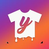 T-shirt design - Yayprint icône