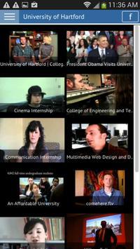 University of Hartford screenshot 3