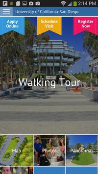 UC San Diego Virtual Tour poster