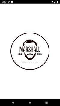 Marshall. Men's Barbershop poster