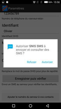 SNIS SMS screenshot 1