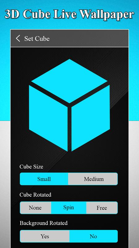 3d Cube Live Wallpaper Romantic Love Cube For Android Apk Download