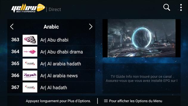 YellowIPTV screenshot 2