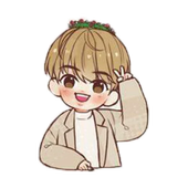 BTS Idol WAStickerApps icon