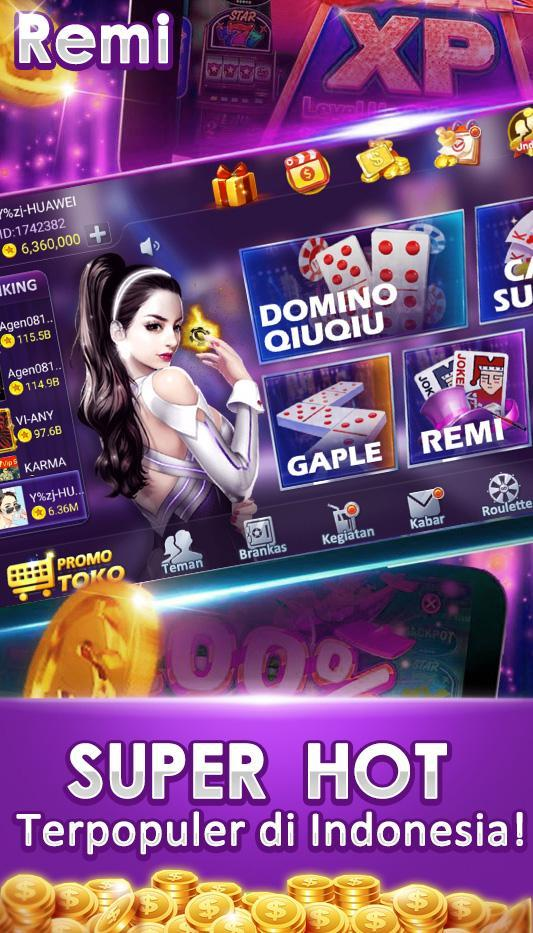 "Remi Joker Poker Capsa Susun Domino Qq Gaple Pulsa安卓下載 Å®‰å""版apk Ņè²»ä¸‹è¼‰"