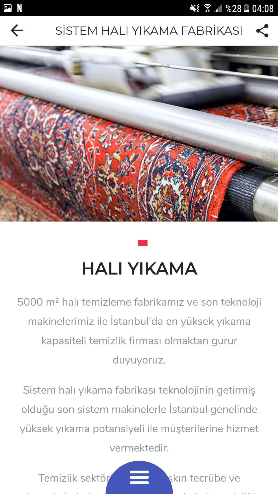 Sistem Hali Yikama App For Android Apk Download