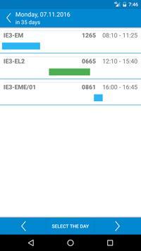 HAW Schedule screenshot 3