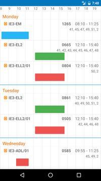 HAW Schedule screenshot 7