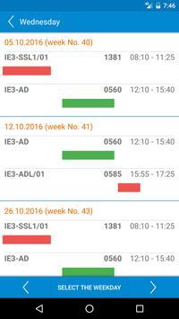 HAW Schedule screenshot 5