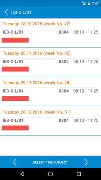 HAW Schedule screenshot 6