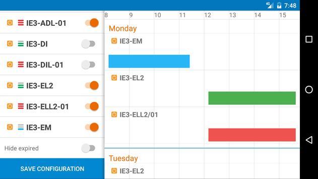 HAW Schedule screenshot 8