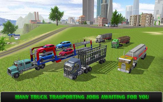 Heavy Truck Simulator Pro screenshot 4