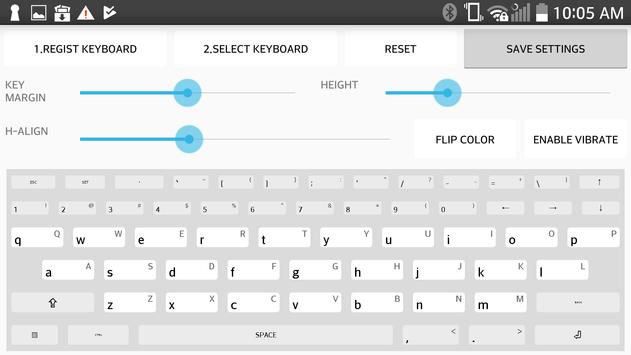 Real Qwerty keyboard for latin for Android - APK Download