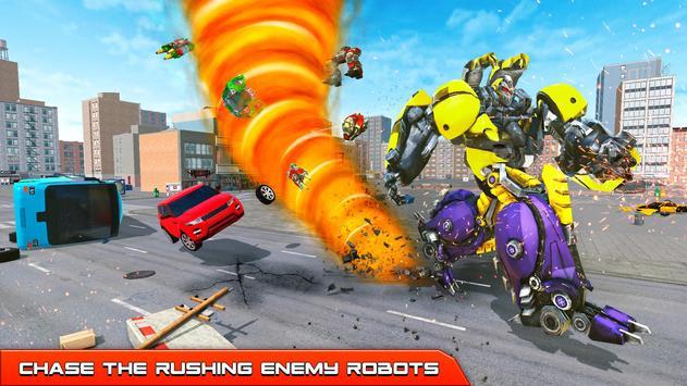 Hurricane Tornado Robot Transforming - Robot Game screenshot 5