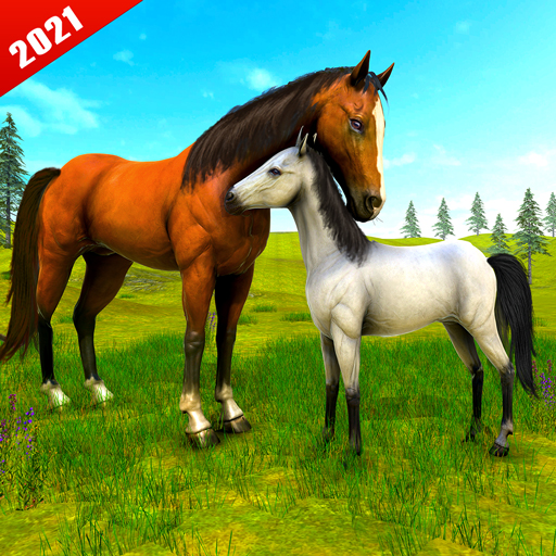Download Wild Horse Family Simulator : Horse Games For Android 2021