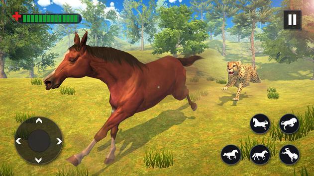 Wild Horse Family Simulator screenshot 4