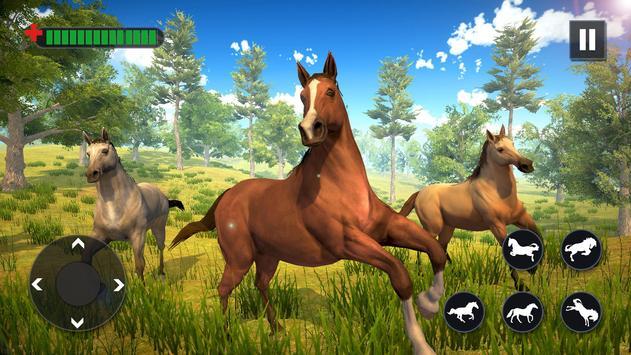 Wild Horse Family Simulator poster