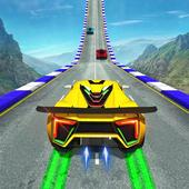 Crazy Speed Stunt Car Racing: 3D Driving Game icon