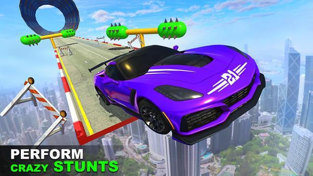 Crazy Speed Stunt Car Racing: 3D Driving Game screenshot 1