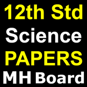 Science 12th Solved Question Papers 2019 MH Board icon