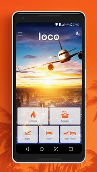 Loco - Cheap Flights, Hotels & Vacation Packages poster